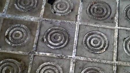 Panot de tres anelles concèntriques